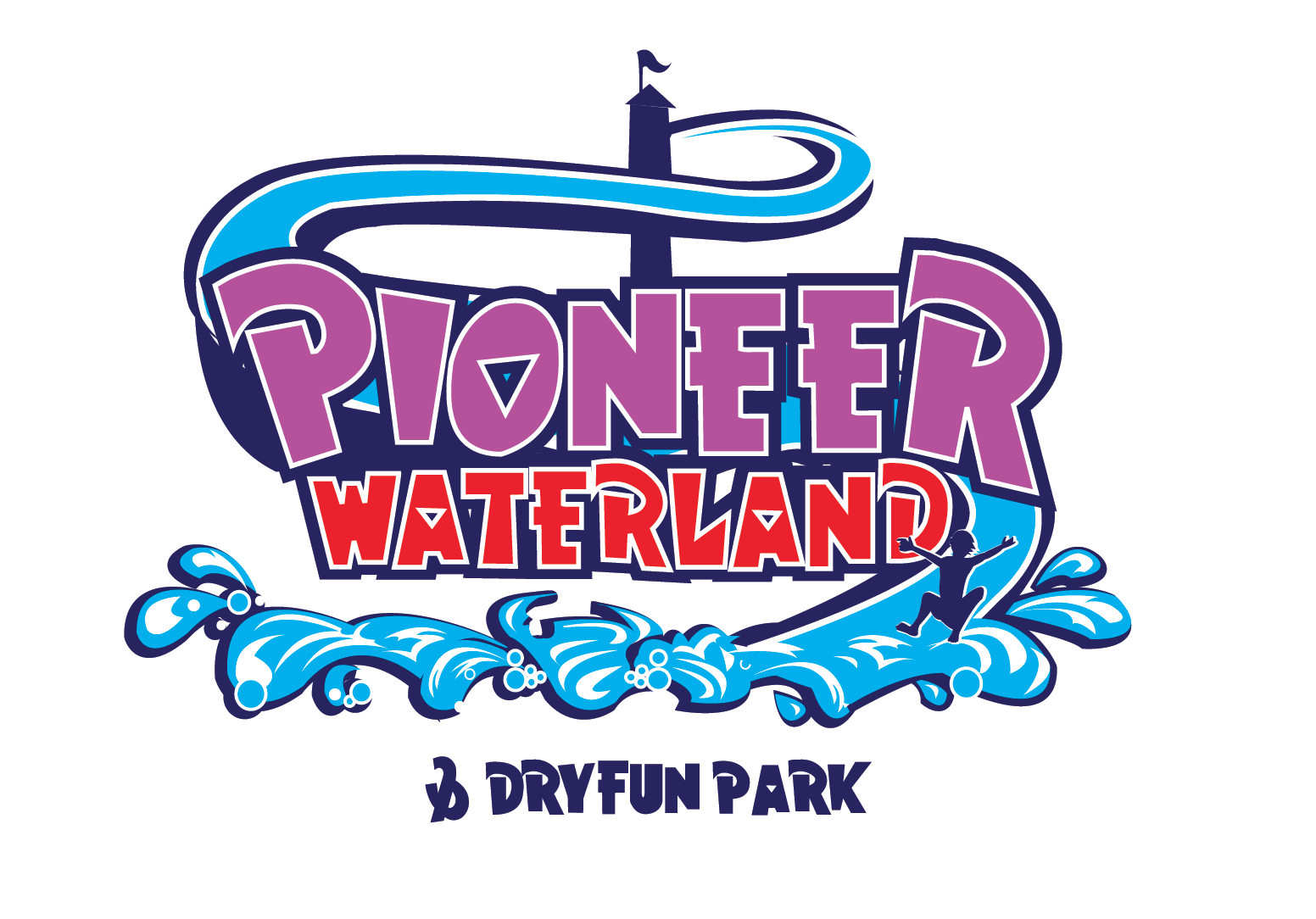 Pioneer Waterland and Dry Fun Park logo